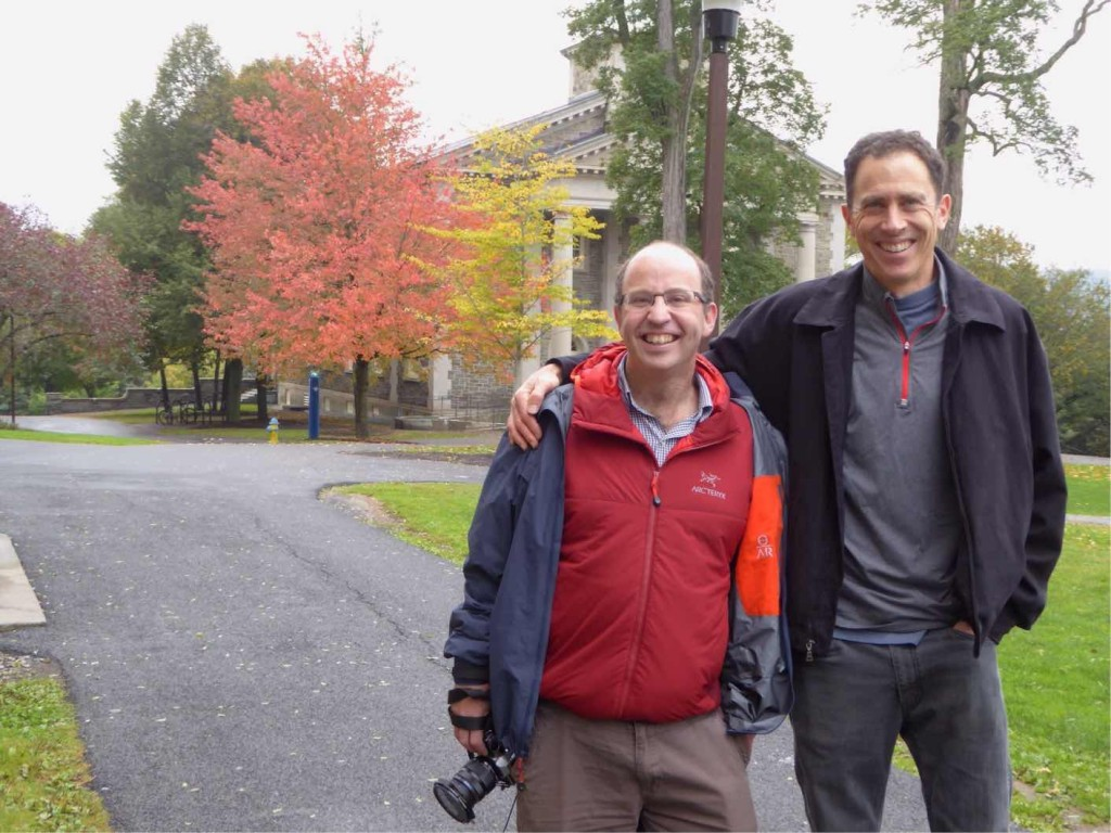 Chuckling away with Grant at Colgate University